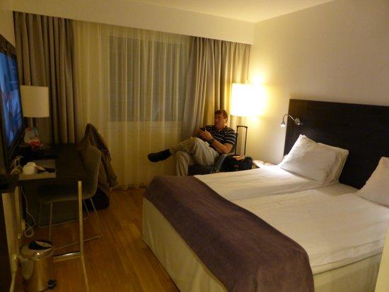 Thon Hotel Cecil : room