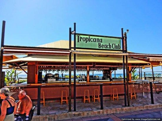 Hotel Tropicana: Hotel Beach Club
