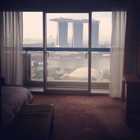 Swissotel The Stamford Singapore: A room with a view