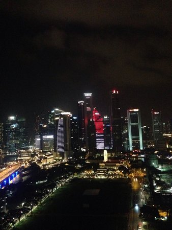 Swissotel The Stamford Singapore: Tall buildings