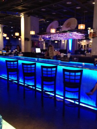 Ocean Manor Beach Resort Hotel : Tokyo Blue...great restaurant & club in OM Resort