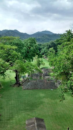 Les Ruines de Copan : view from the top