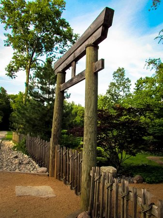 Great Fabyan Villa Museum U0026 Japanese Garden: Gate To Japanese Garden Part 24