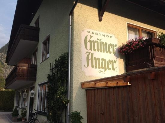Gruner Anger: taken from parking area
