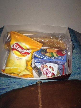 Keylany Hotel: Snack box for Abu Simbel