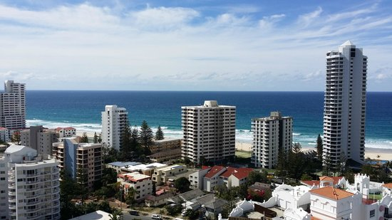 Crowne Plaza Surfers Paradise: View from Room fantsatic