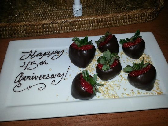 Hermosa Inn: our anniversary welcome