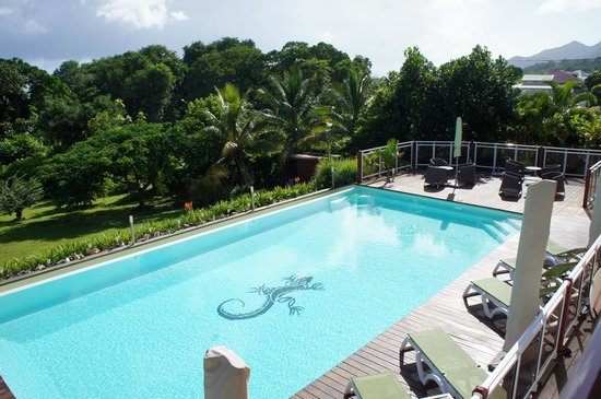 Trois Rivieres, Guadeloupe: piscine hors norme