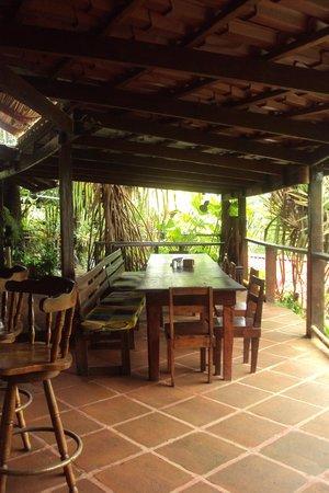 Princesa de la Luna Eco Lodge: The Gathering place for meals