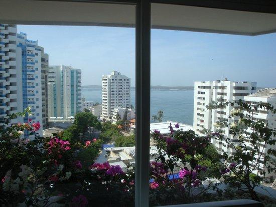 Hotel Dann Cartagena : elevator waiting area - 14th floor