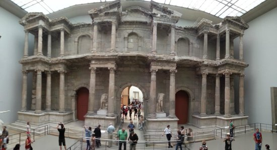 Museo de Pérgamo: Porta di Mileto