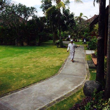 Keraton Jimbaran Beach Resort: Jardin