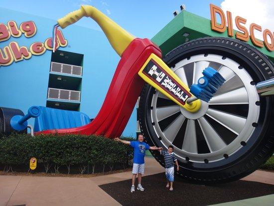 Disney's Pop Century Resort: diseño