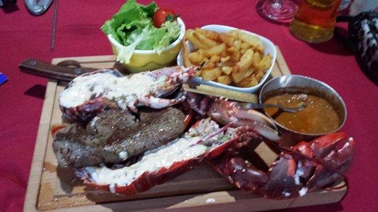 Chez Patoch': Astice e filetto...