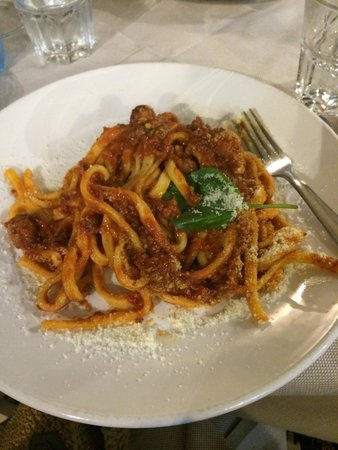 Naumachia: Pasta dish was very good