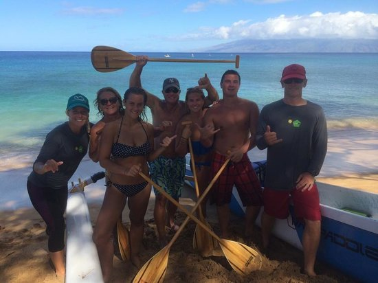 Maui Paddle Sports: The Huston's with Michael and Cynthia