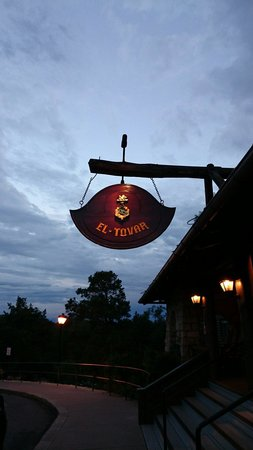 Entrance at El Tovar Hotel