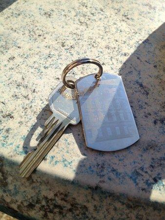 Hotel Rustler : La llave