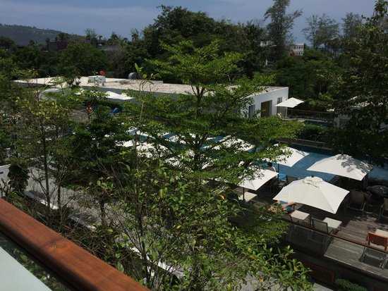 Nap Patong : View from Balcony