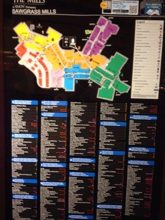Sunrise, FL: Mappa e stores