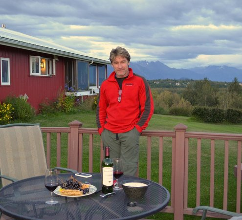 Pioneer Ridge Bed and Breakfast Inn : Love of my life in beautiful Wasilla, Alaska