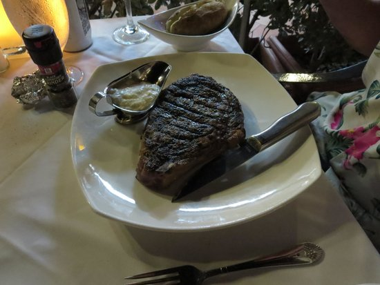 Daniel's Steak and Chop: Bone in Ribeye