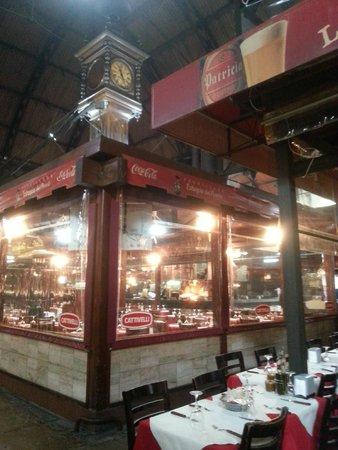 Mercado del Puerto: Parte interna