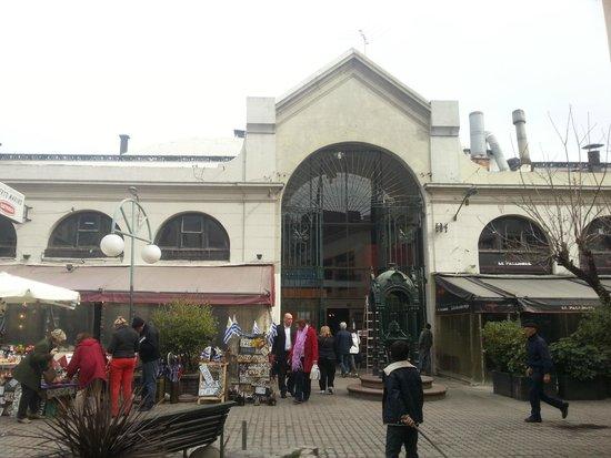 Mercado del Puerto: Parte externa