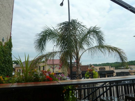 Sergio's cantina: outside seating