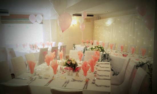 The Jester Hotel: Wedding reception