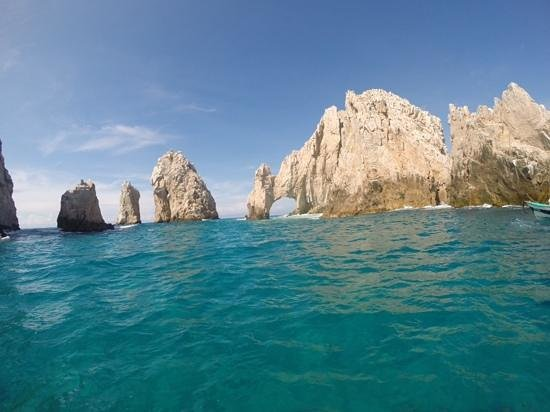 City Tours in Los Cabos: Glass bottom boat tour