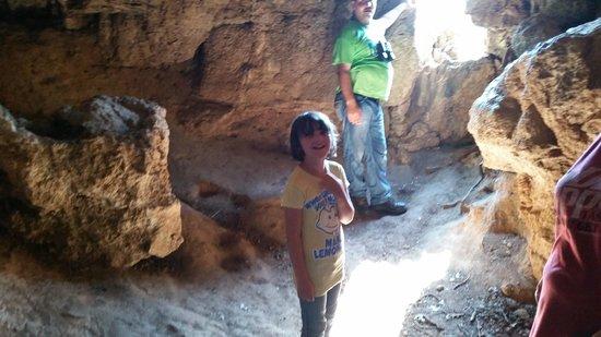Turner Falls Park : Inside outlaws cave