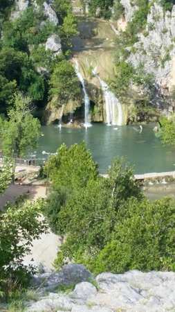 Turner Falls Park : Turner Falls from scenic view