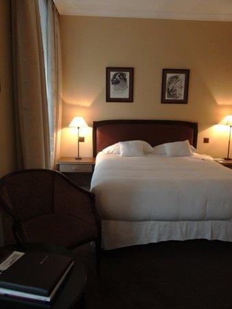 Tiffany Hotel: Vista desde el escritorio