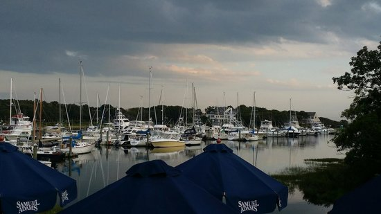 Brax Landing Restaurant: Harbor view at Brax Landing