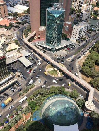 Hilton Beirut Habtoor Grand: Beirut roundabout