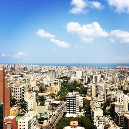 Hilton Beirut Habtoor Grand: View of Beirut