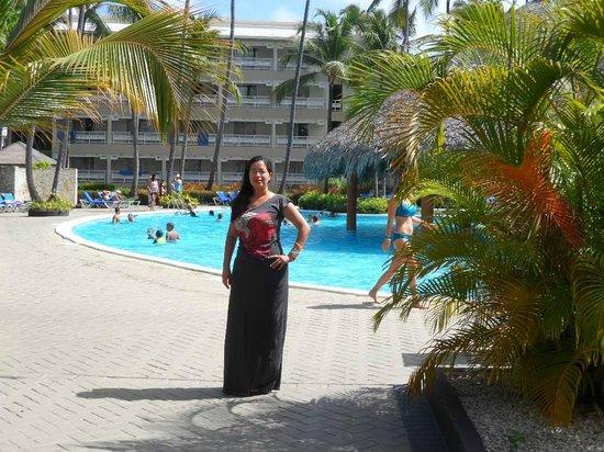 Vista Sol Punta Cana: Yo modelando....Feliz