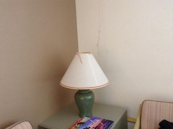 DoubleTree by Hilton Hotel Esplanade Darwin: peeling walls, ancient furniture - not work $100 a night let alone $400
