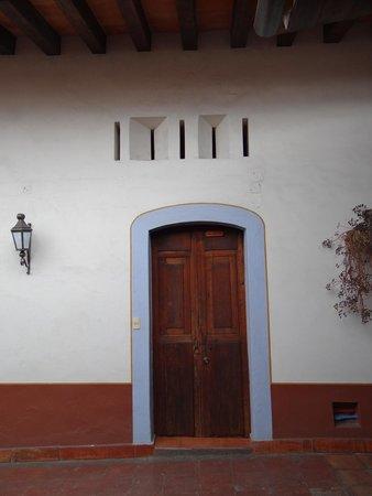 Meson del Alferez Xalapa: La entrada a mi habitación, nunca la habría imaginado así