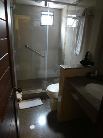 GHL Hotel Hamilton: Baño: Buenas condiciones