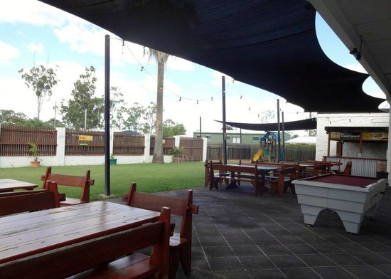 Dysart Australia  City new picture : Dysart, Australia: View from our beergarden