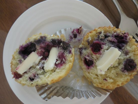 Liberty Hill Inn: Blueberry Muffins