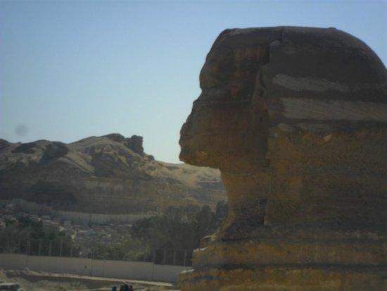 Plateau de Gizeh : Esfinge