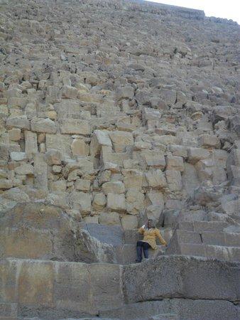 Plateau de Gizeh : A grande pirâmide Queops
