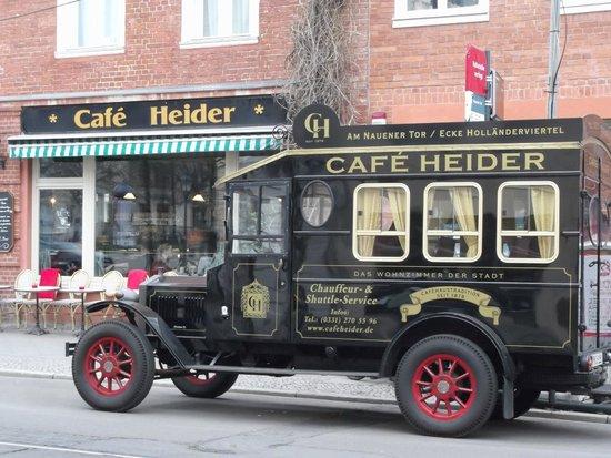 Wyndham Garden Potsdam: Tipp Cafe Heider