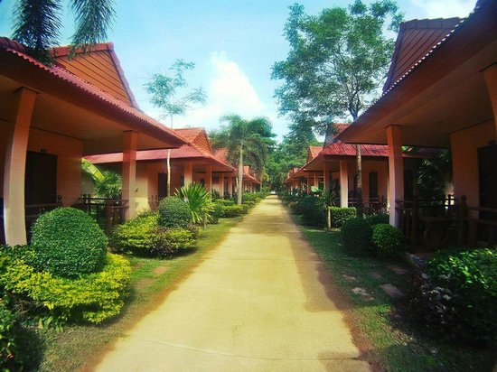 Lanta Pavilion Resort : Bungalows