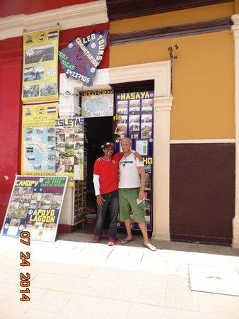 Leo Tours Comunitarios: NUESTRO AMIGO FREDERICK DE ALEMANIA NOS VISITO EL MES DE JULIO DEL 2014