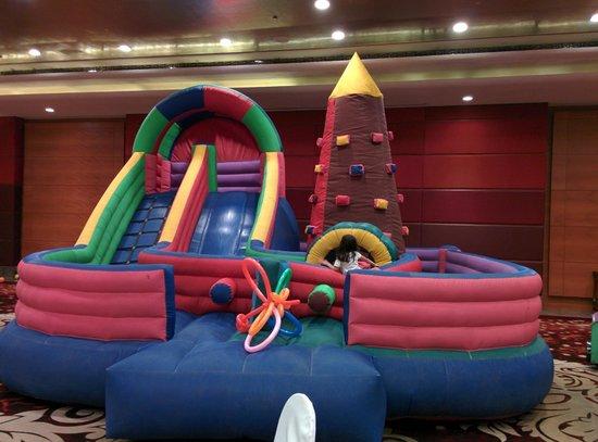 The Leela Ambience Gurugram Hotel & Residences: Bouncy _ Kids Zone
