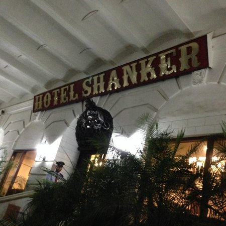 Hotel Shanker: Entrance